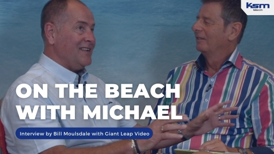on the beach with michael j thornton giant leap video Bill Moulsdale